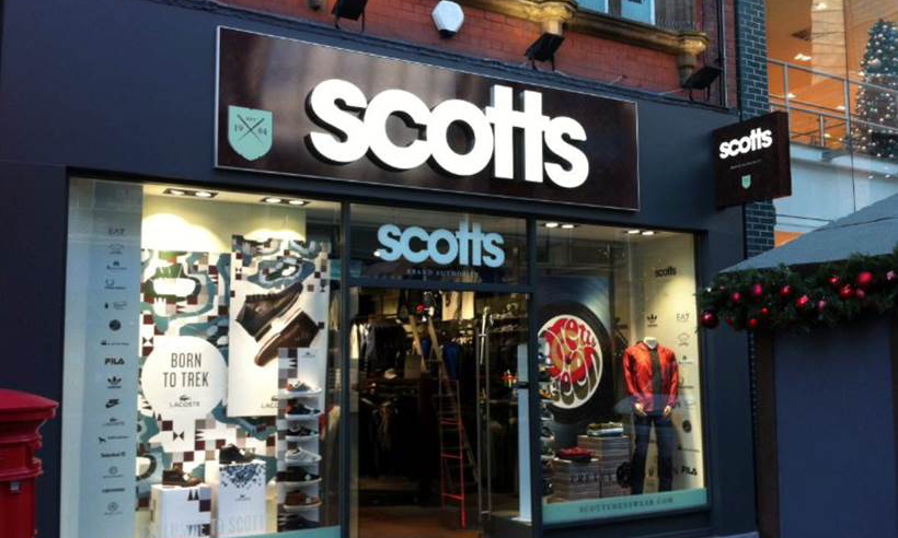 Scotts Shopfront